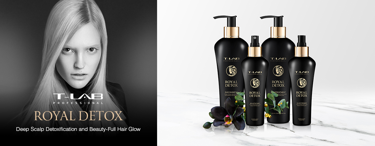 Royal Detox Collection by T-LAB Professional