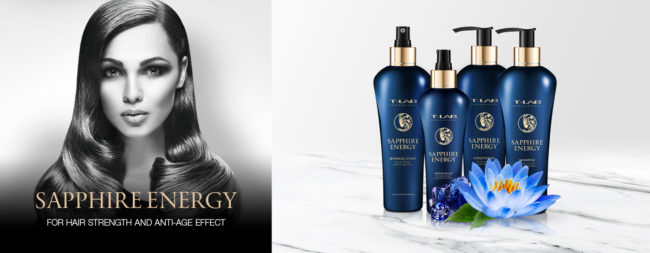 Sapphire Energy Collection by T-LAB Professional