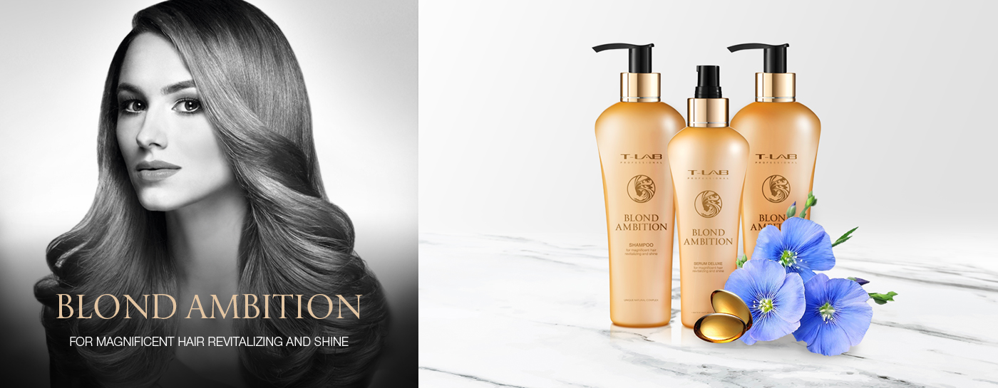 Blond Ambition Collection by T-LAB Professional