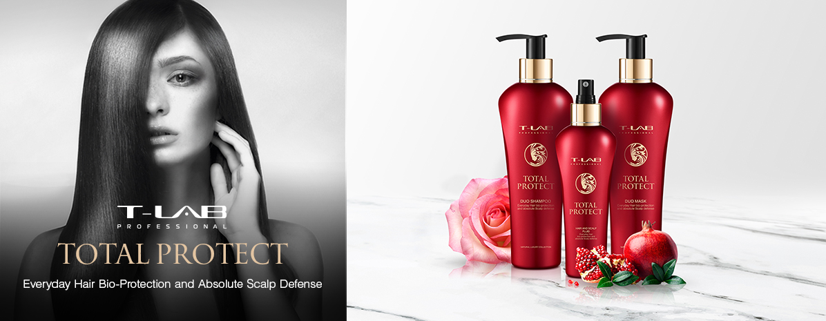 Protect products for everyday hair bio-protection and absolute scalp defense