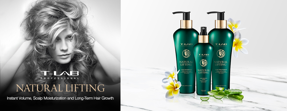 Natural products for instant volume, scalp moisturization and long-term hair growth